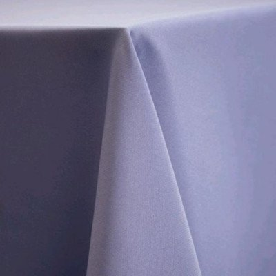 "Round Tablecloth 120"" Poly Periwinkle picture 1"