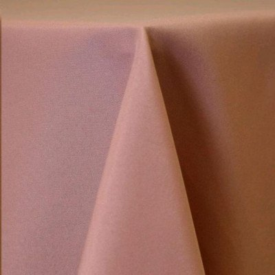 """Round Tablecloth 96"""" Poly Mauve picture 1"""