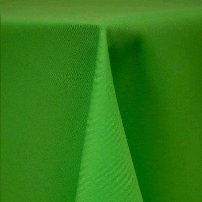 """Round Tablecloth 96"""" Poly Neon Green picture 1"""