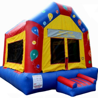 Moonwalk, Balloon Party Inflatable Castle picture 1