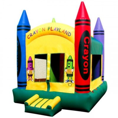 Moonwalk, Crayon Inflatable Playland picture 1