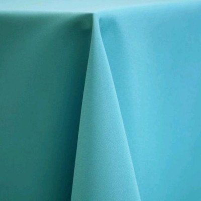 "Round Tablecloth 120"" Poly Turquoise picture 1"