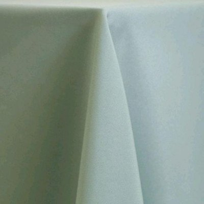 "Round Tablecloth 96"" Poly Seamist picture 1"