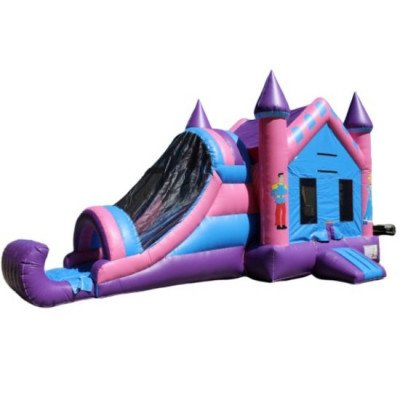 Moonwalk, Inflatable Princess Jump And Slide picture 1
