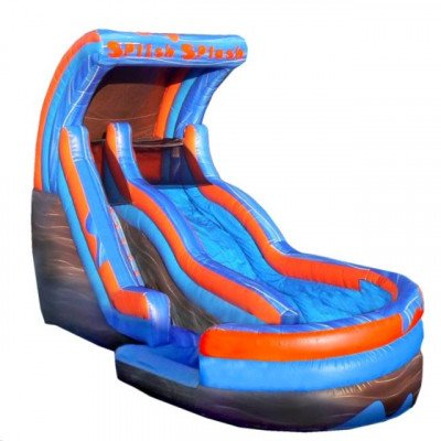 Moonwalk, Splish Splash Inflatable Water Slide picture 1