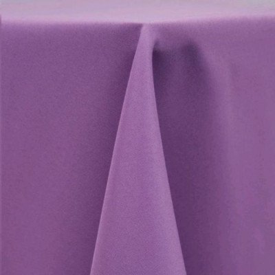 "Round Tablecloth 96"" Poly Violet picture 1"