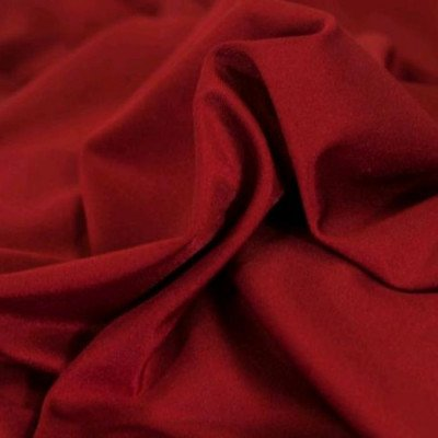 """Linen 30"""" Round Cocktail Tablecloth Spandex Red picture 1"""