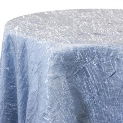 Tablecloth 90X132 Iridescent Crush Sky Blue picture 1