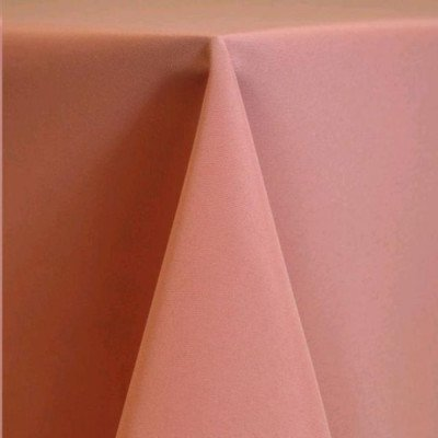 """Round Tablecloth 108"""" Poly Dusty Rose picture 1"""
