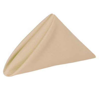 Napkin 20X20 Poly Beige picture 1