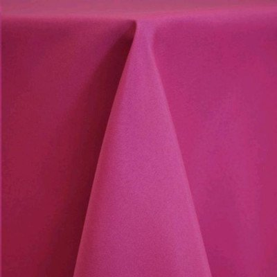 "Round Tablecloth 108"" Poly Hot Pink picture 1"