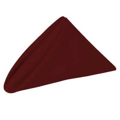 Napkin 20X20 Poly Burgundy picture 1