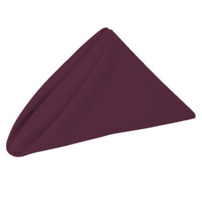 Napkin 20X20 Poly Claret picture 1