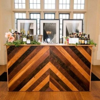 Bar, Chevron Wooden picture 1