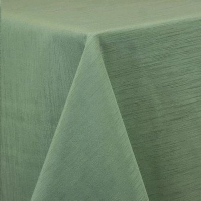 """Round Tablecloth 132"""" Majestic Sage picture 1"""