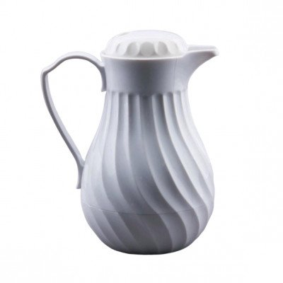 Beverage Pitcher, White Insulated picture 2