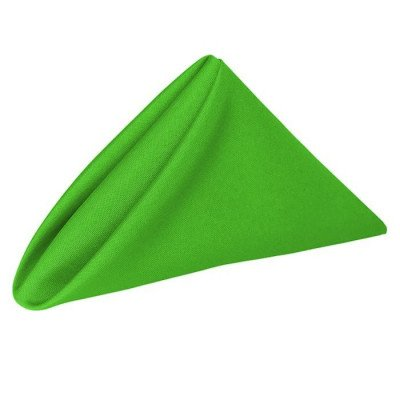 Napkin 20X20 Poly Neon Green picture 1