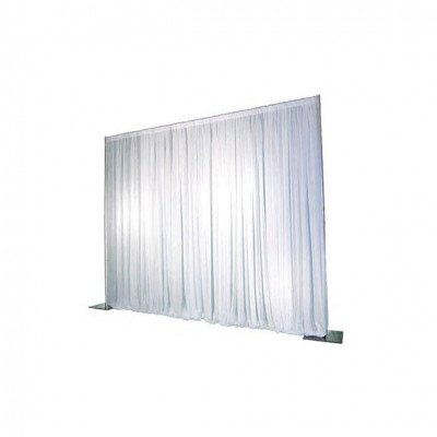 Pipe And Drape, 7'-12'X70' Poly White picture 1