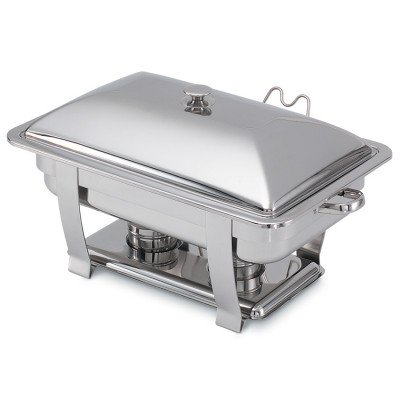 Chafer, 8 Quart Stainless Rectangle picture 1