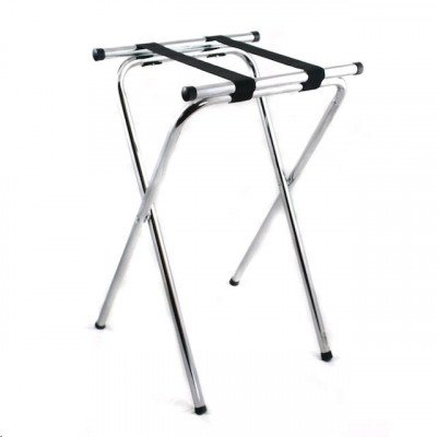 Chrome Waiters Tray Stand picture 1