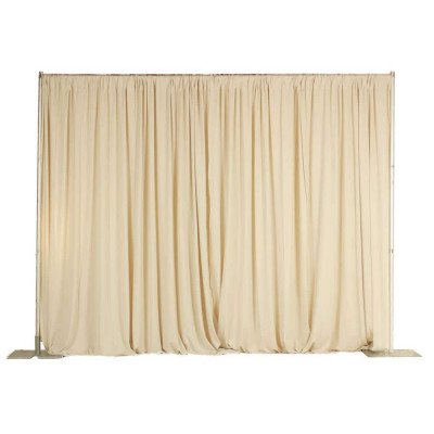 Pipe And Drape, 8'X50' Champagne picture 1