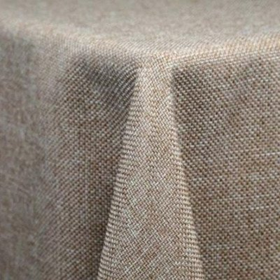 Tablecloth 90X156 Burlap picture 1