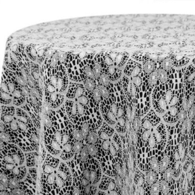 """Tablerunner Lace White 12"""" X 108"""" picture 1"""