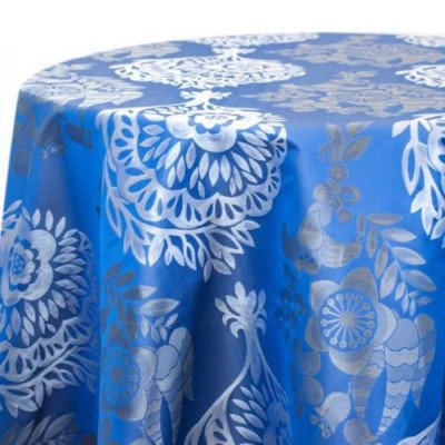 """Round Tablecloth 120"""" Big Bash Party picture 1"""