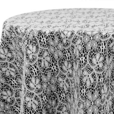 """Tablerunner Lace White 8"""" X 108"""" picture 1"""