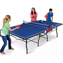 Ping pong table- fold n store table tennis table