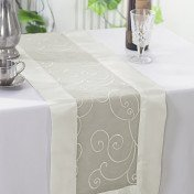 Ivory – Table Runner - Embroider