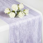 Lavender – Table Runner - Taffeta Crinkle