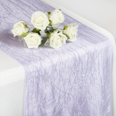 lavender – table runner - taffeta crinkle-1