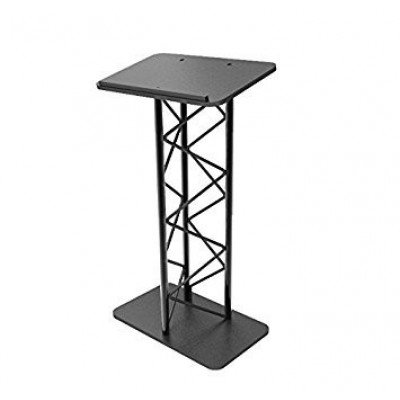 lectern podium - black steel