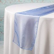 Navy Blue – Table Runner - Organza