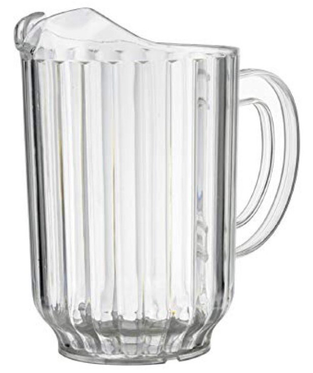 Pitcher (Plastic) - Water Juice & Beer