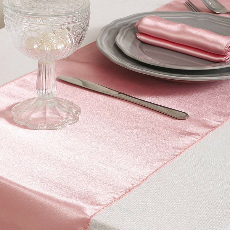pink – table runner - lamour-1