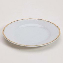 Snow Drop Gold Plate - Bread
