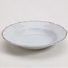 Snow Drop Silver Bowl - Soup/Salad