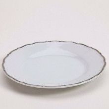 Snow Drop Silver Plate - Bread