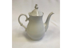 Snow Drop White Coffee Pot (Single)