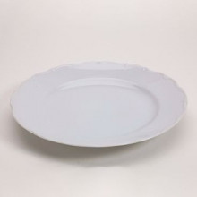 Snow Drop White Plate - Buffet