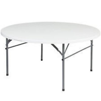 "table round - 48"" wide x 30"" high"