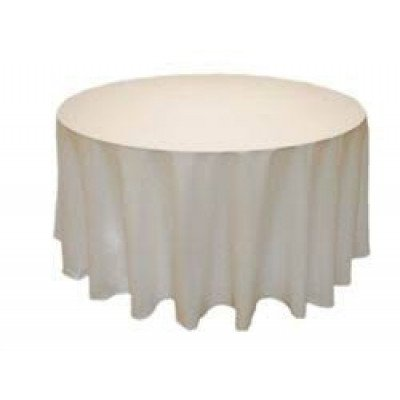 toffee – round – tablecloth - lamour – 120""