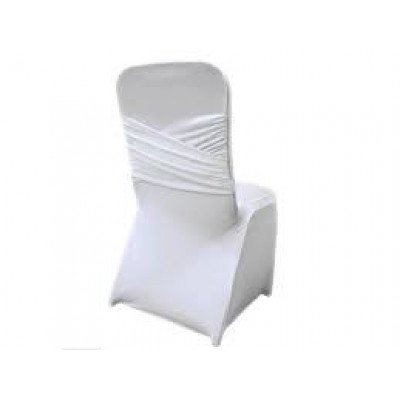 white - chair cover madrid banquet – spandex