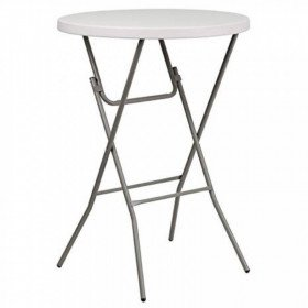 "Cocktail Table - round high - 32"" - Plastic"