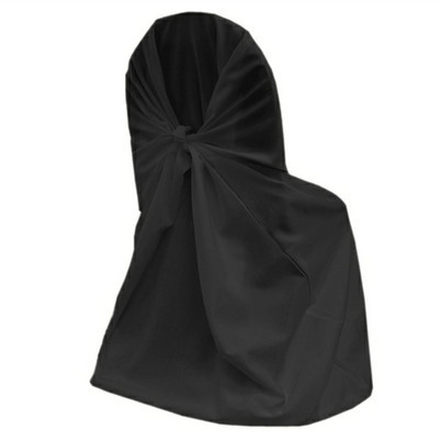 black – chair cover - universal - polyester