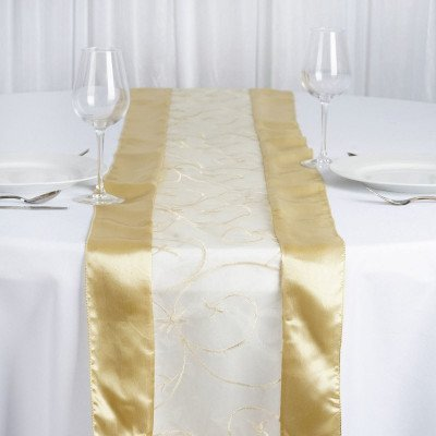 champagne – table runner - embroider-1