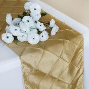 Champagne – Table Runner - Pintuck