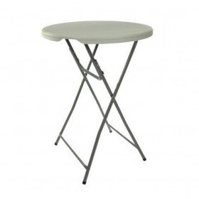 "Cocktail table - round high - 48"" - plastic"